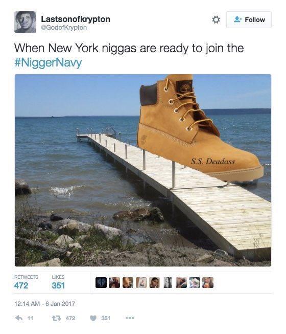 #TwitterMomentsOfTheDecade belong to #NiggerNavy and #IfSlaveryWasAChoice