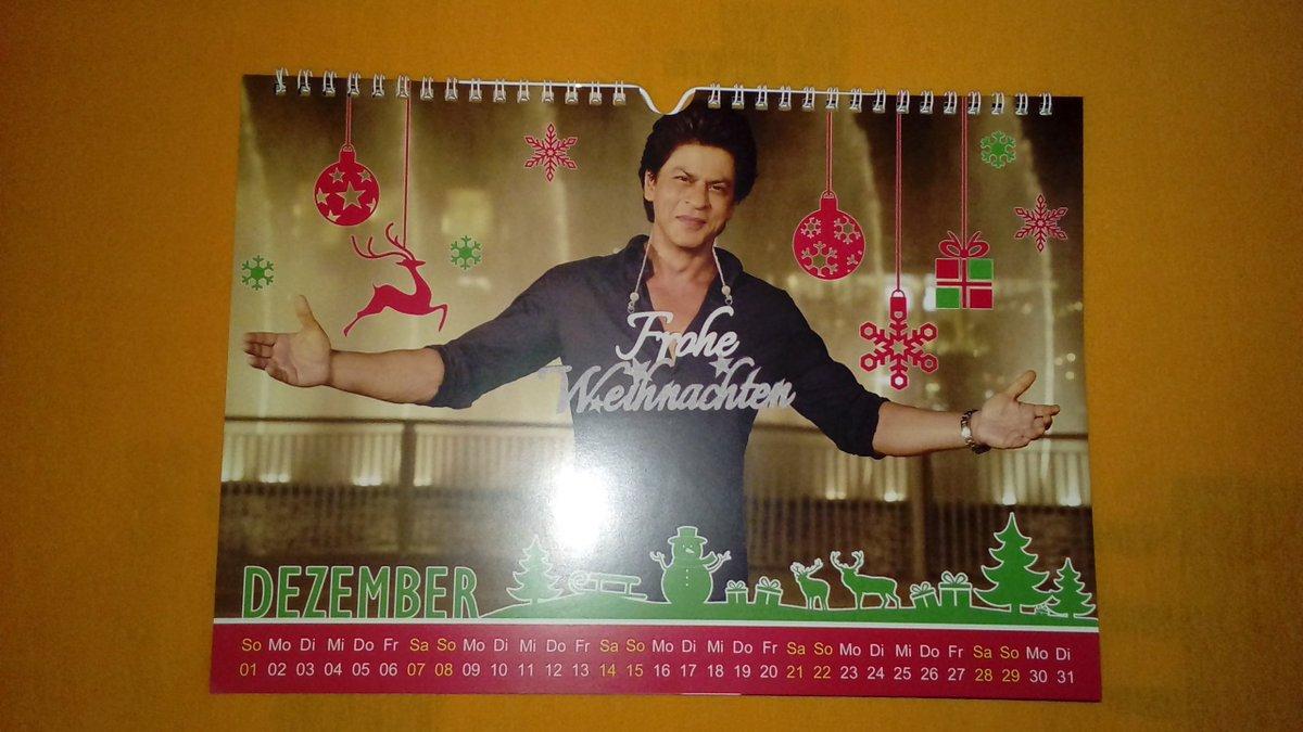 ~ 💖 So sieht mein #December aus! 💖 ~ #ShahRukh #December2019 #Calendar2019 #Bollywood #India @iamsrk 😘😍💖💋👳🙏📷📆🎅🎄🌟🎁💡❄⛄✨🍭🍫🍬🆕👍