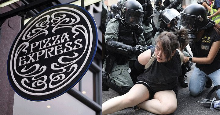 Pizza Express forced to close 21 restaurants in Hong Kong during violent protests