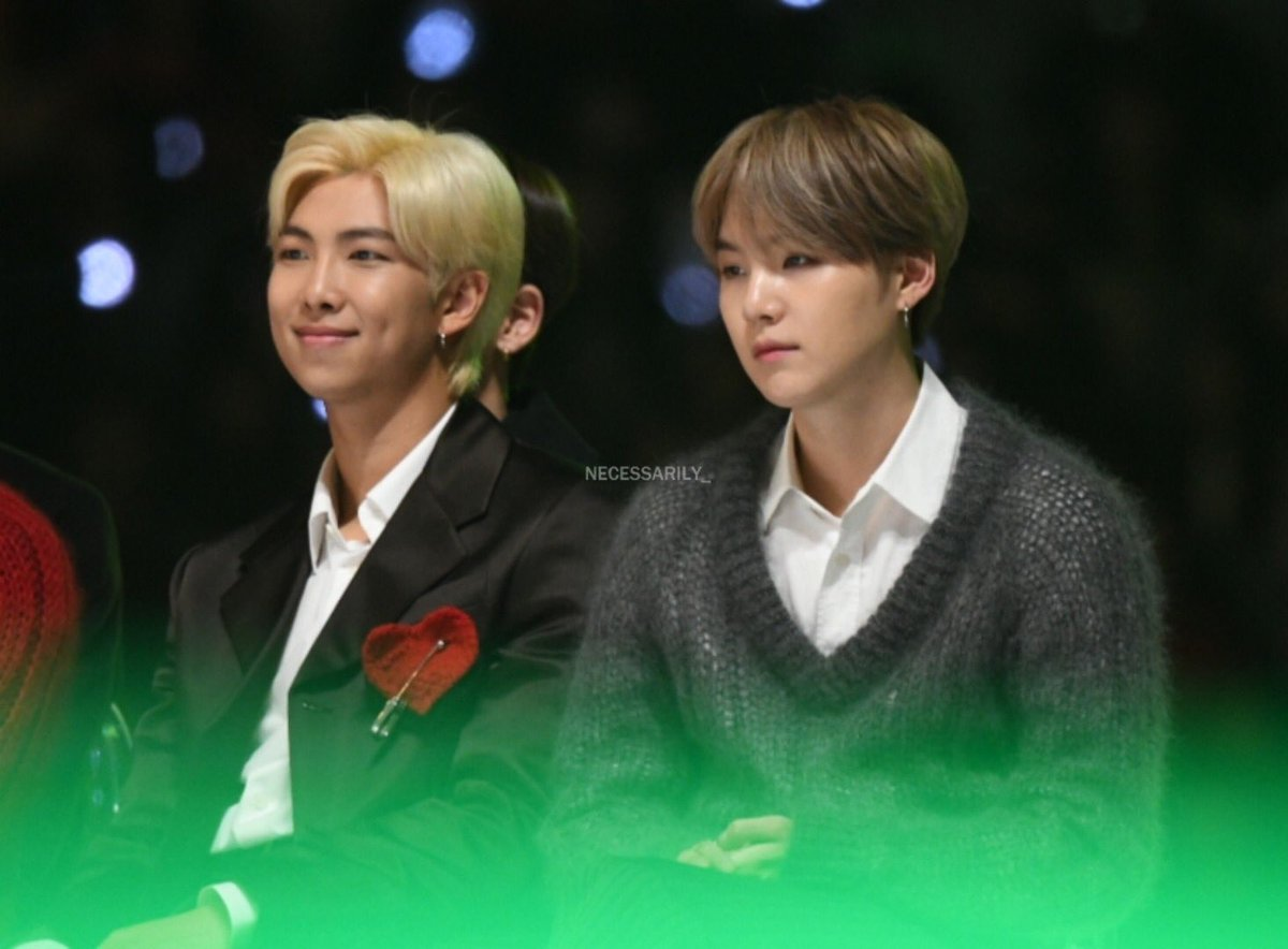 191130 Melon Music Awards 📸 aspire_for_BTS #BTSatMMAs #RM #SUGA #NAMGI @BTS_twt