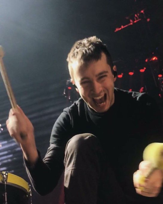 Happy birthday to the man who saved my life on more than one occasion, thank you, tyler joseph.