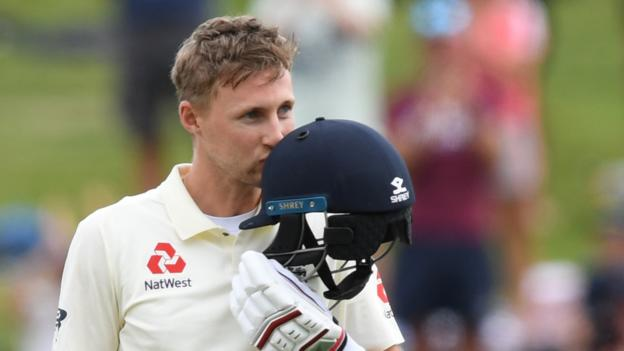 Great to see @root66 back in the runs with a terrific century.  Big pressure on him to lead from the front, and he delivered.  Well batted, Skip. #ENGvNZ <br>http://pic.twitter.com/904zbH0WS7
