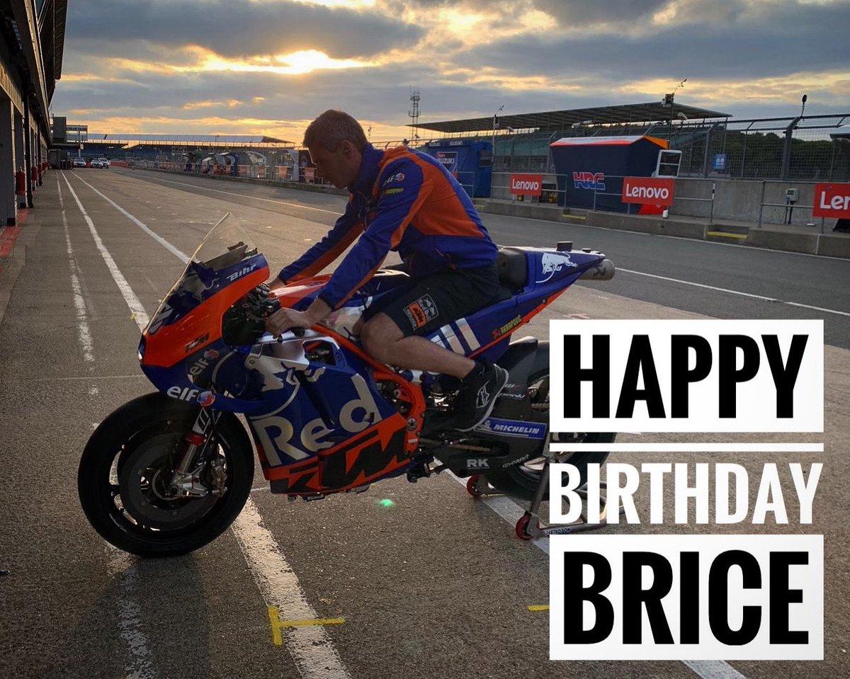 Happy birthday to Brice 🎈🥳🎊 Have a fantastic day! #JoyeuxAnniversaire #AllezBrice #Tech3Family #Tech3