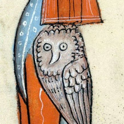 oh my, too much fun - this thread of tired (or not) medieval owls! LOL
