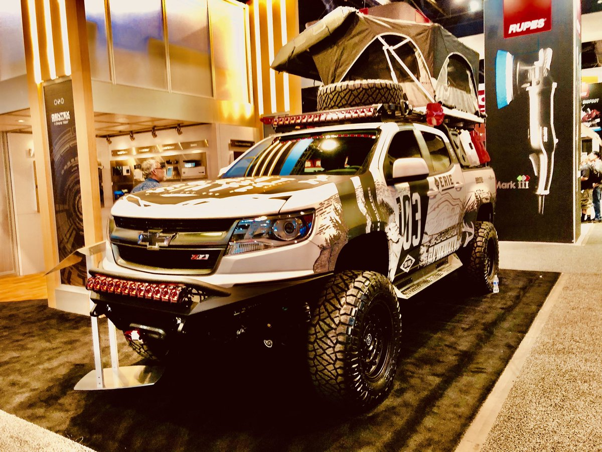#SEMA2019 #overland is mainstream now.<br>http://pic.twitter.com/MKTTo1todY
