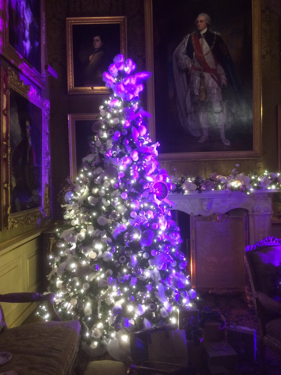 Christmas at #Blenheim, Alice in The Palace just beautiful @BlenheimPalace