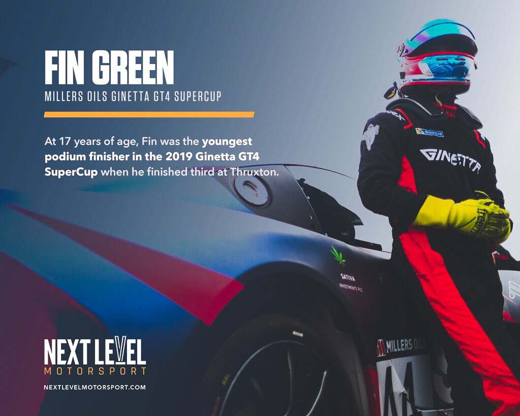 🏁 If at 17 years old @FinGreenRacing is standing on the @GinettaCars GT4 Supercup podium... what will he be able to accomplish in the future? 🏆  #NextLevelMotorsport #NextLevelDrivers #FinGreen #Ginetta #Supercup #Podium #Protagonist