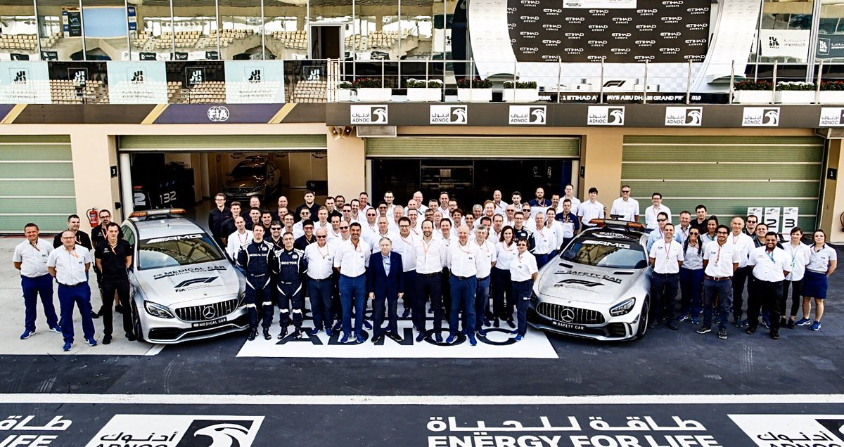 Tough year for the @fia @f1 Stewards and race directors. Can never replace Charlie but he'd have been proud of his team 2019. Nice sentiments from @JeanTodt #ThankyouCharlie #f1 #AbuDhabiGP
