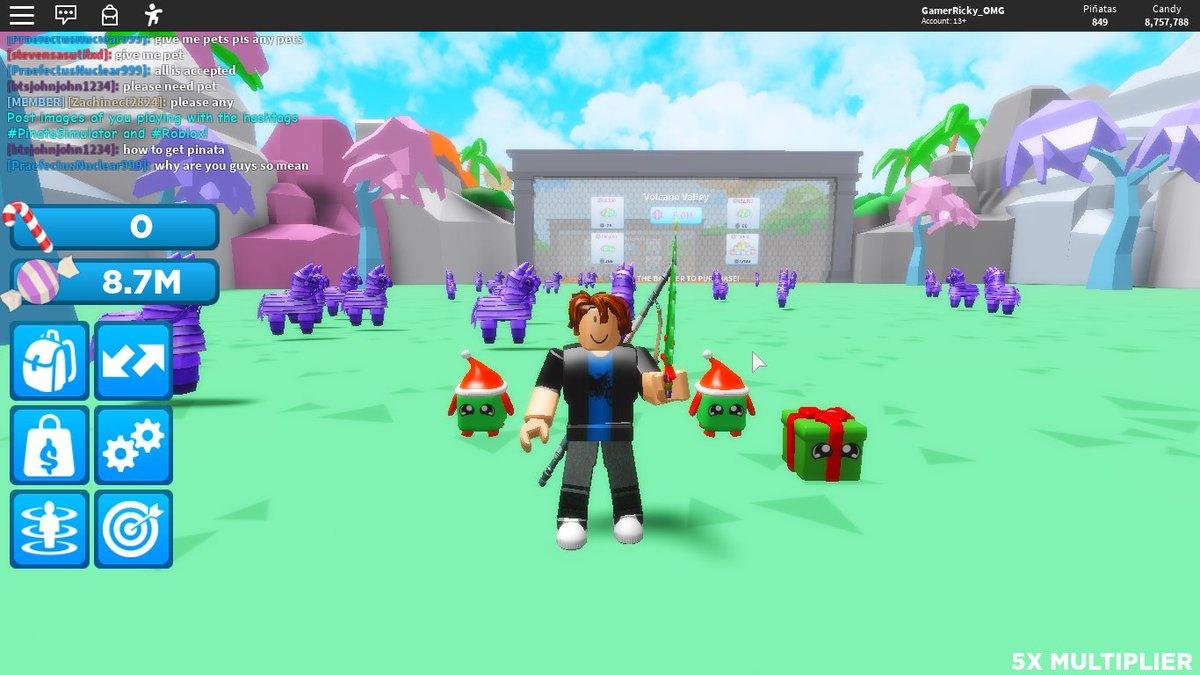 Pinata Simulator Brand New Code Roblox Pinata Simulator Codes November 2019 Pinata Simulator Pinatasimulator Twitter