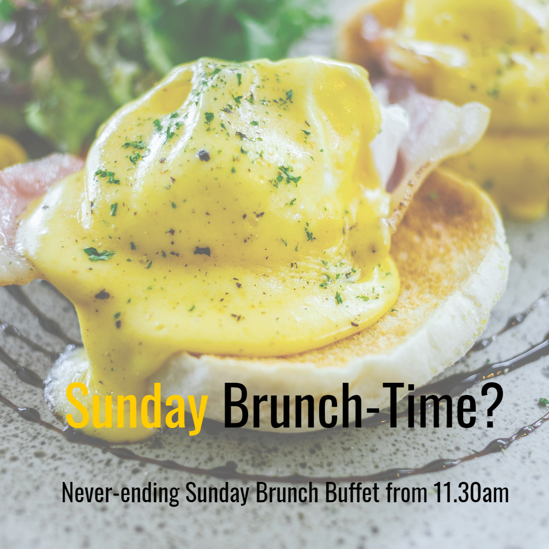 Good morning #Bournemouth!Coming to our #SundayBrunch service today from 11.30?Just £14.95 pp/ kids £6.95 for a buffet bursting with tasty treats which you can visit unlimited times!! See you later!#Foodies #Brunch #Family #1stDecember