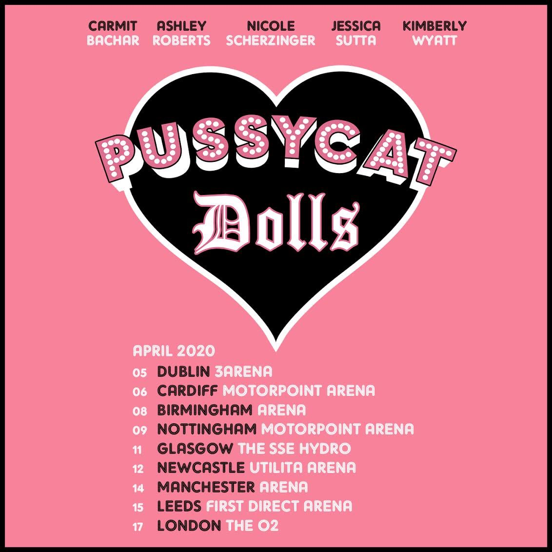 The @pussycatdolls reunion tour is on-sale now!! 💖😻 #PCDReunion Get your tickets 👉🏽 livenation.co.uk/artist/the-pus…!