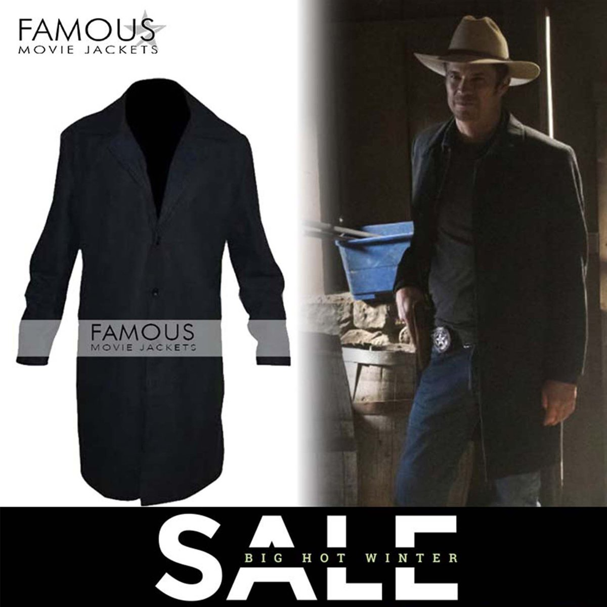 Make your own way wearing this super stylish and cool Justified Timothy Olyphant (Raylan) Trench Coat Jacket. For more styles and offers visit us: https://buff.ly/33xCX4t #Celebrities #CelebsJackets #famousmoviejackets #timothyolyphant #trenchCoat #raylan #fashion #outfit #tyle