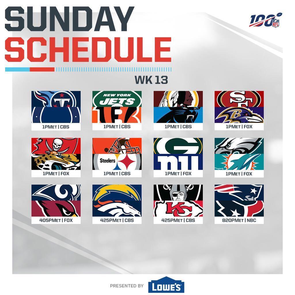 @NFL's photo on Football Sunday