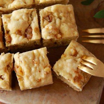 【レシピ】レンジでバナナケーキしっとりふわふわ…