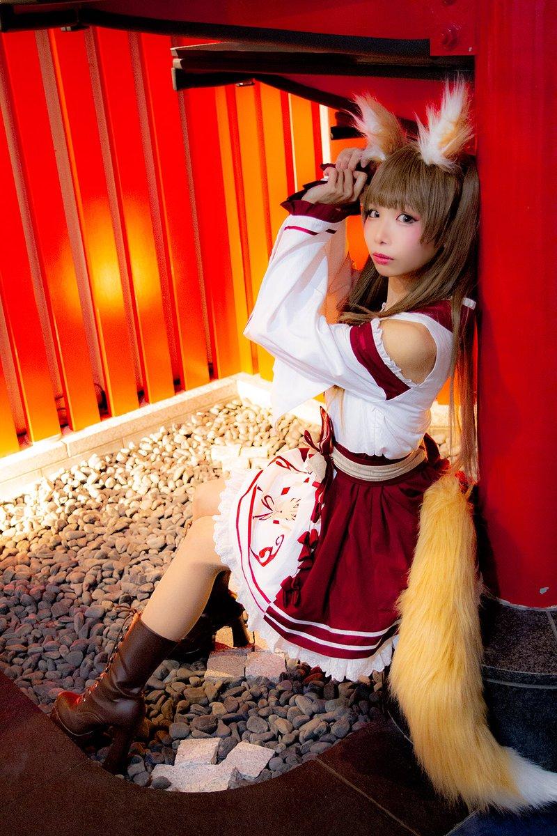 。*⑅୨୧┈┈┈┈┈┈┈┈┈୨୧⑅*。  ✩ #studioARIA撮影会 ✩ ✩ #ToAlice ✩  ❥ 姫宮まほれさん ❥  。*⑅୨୧┈┈┈┈┈┈┈┈┈୨୧⑅*。  お狐さま巫女さん🦊⛩ まほれさんの貴重な和装姿❕  毎日お参りしたい🙏🏻🙏🏻💫 最高にかわいい神様でした🥺💕