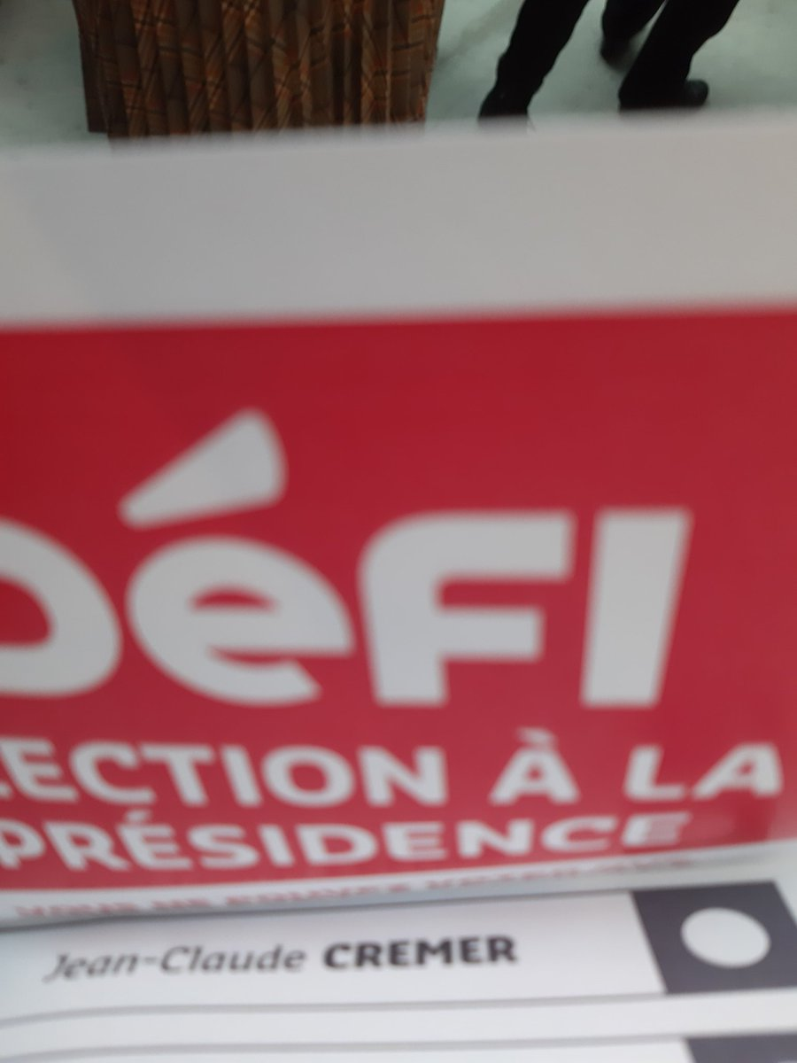 A voté... #inspirer #federer #defi #presidencedefi