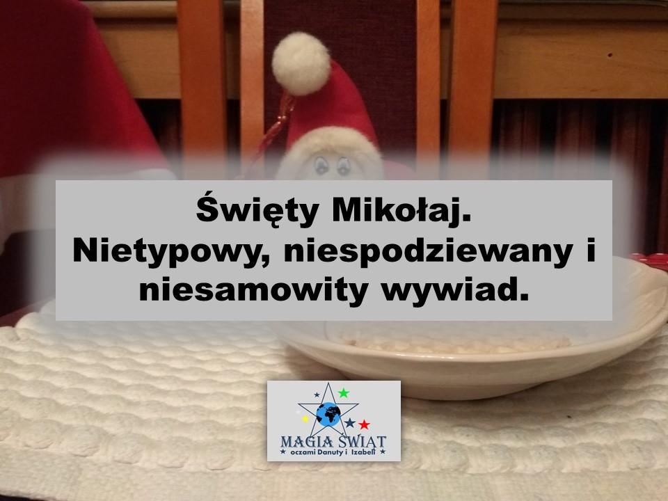 Mamy dla Was niesamowity wywiad ze Świętym Mikołajem  #blog #mikołaj #wywiad #prezenty #magiaświąt