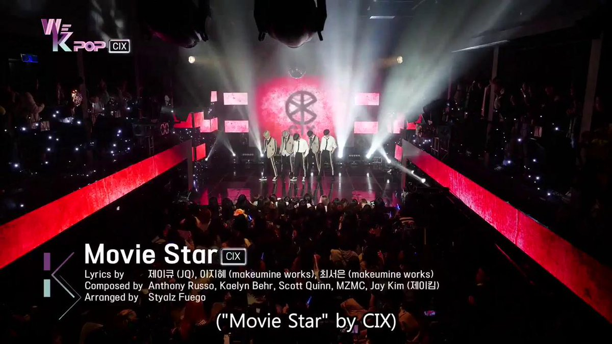Enjoy the Special stage of #CIX #MovieStar on #WeKpop #ep20 #kbsworld!