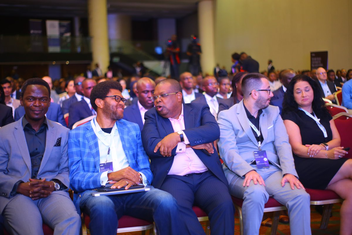 Sharing insightful moments at the #KPMGDigitalSummit2019. From L - R: @BoyeAdemola, Partner & Lead, DT, @KPMGAfrica, Iniabasi Akpan, Country Manager, Opay; @Josephtegbe, Partner & Head, Tech Advis & Mkts; @KPMG_NG; Rolan Kab, Head, AI, and Meital Raviv, Head, Fintech, KPMG Israel https://t.co/kbUMltLbTN