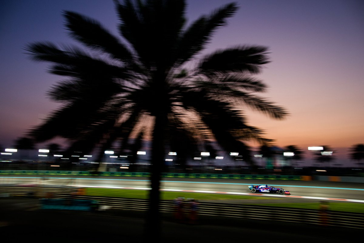 Today was a nice way to finish the season. That first stint on the Base tyre was probably the best stint of my life, I pushed like there was no tomorrow! Every lap I was quicker than the cars around me and I had a great feeling with the car.  #DK26 #F1 #AbuDhabiGP 🇦🇪 https://t.co/WKZJVwr6ok