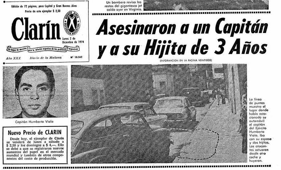 """Nacionalismo Social on Twitter: """"Otro aniversario del asesinato del Capitán  Viola y su hijita de 3 años. Prohibido olvidar ????… """""""