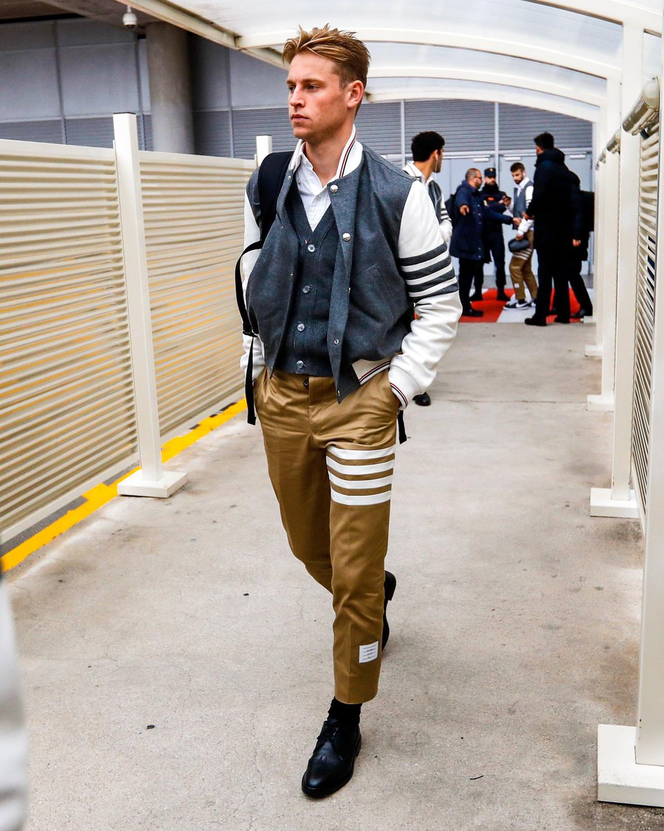 Hey it's that  @ThomBrowneNY model again...