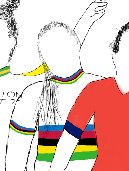 @cyclingmole @Sar_Roy @JessicaAllen93 @JastrabMegan @ctxstx @runt2pb @WielJade @GoFahr @marta_cavalli98 1. @JastrabMegan, @RallyUHCcycling.  First year U19 junior; and work to the first American junior in the Omnium rainbow jersey, another in the Madison with @ZoeTaPerez.   Then dealing with the pressure to win the #Yorkshire2019 road race. Mature beyond her years. #CyclingGame20