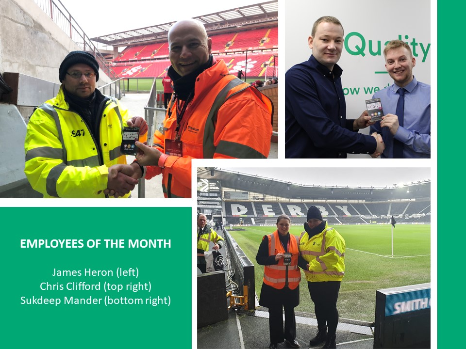 Once again, we are celebrating THREE employees of the month.   Well done to James Heron, Chris Clifford and Sukdeep Mander and thank you for your hard work and dedication.  #employeerecognition #thankyou #employeesofthemonth