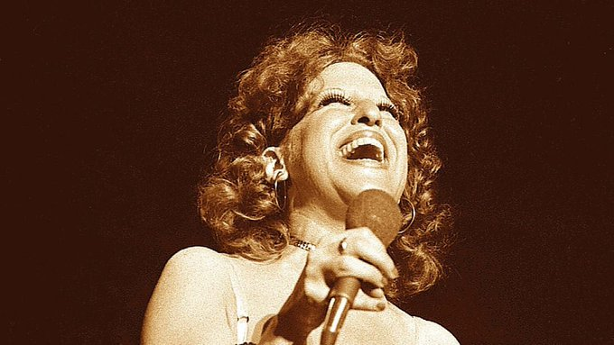 Happy 74th Birthday to international treasure, Bette Midler!