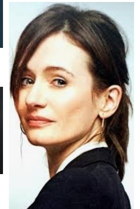 December, the 1st. Born on this day (1971) EMILY MORTIMER. Happy birthday!!