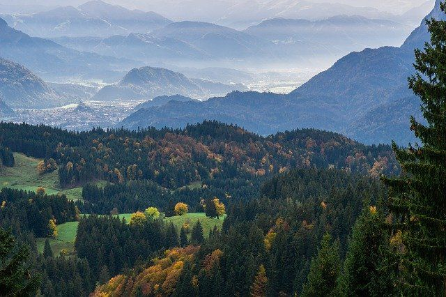 Panoramic View Of Kufstein, Tyrol (Austria)by Heidelbergerin  https://pixabay.com/p-4587079 #landscapephotography #Austria