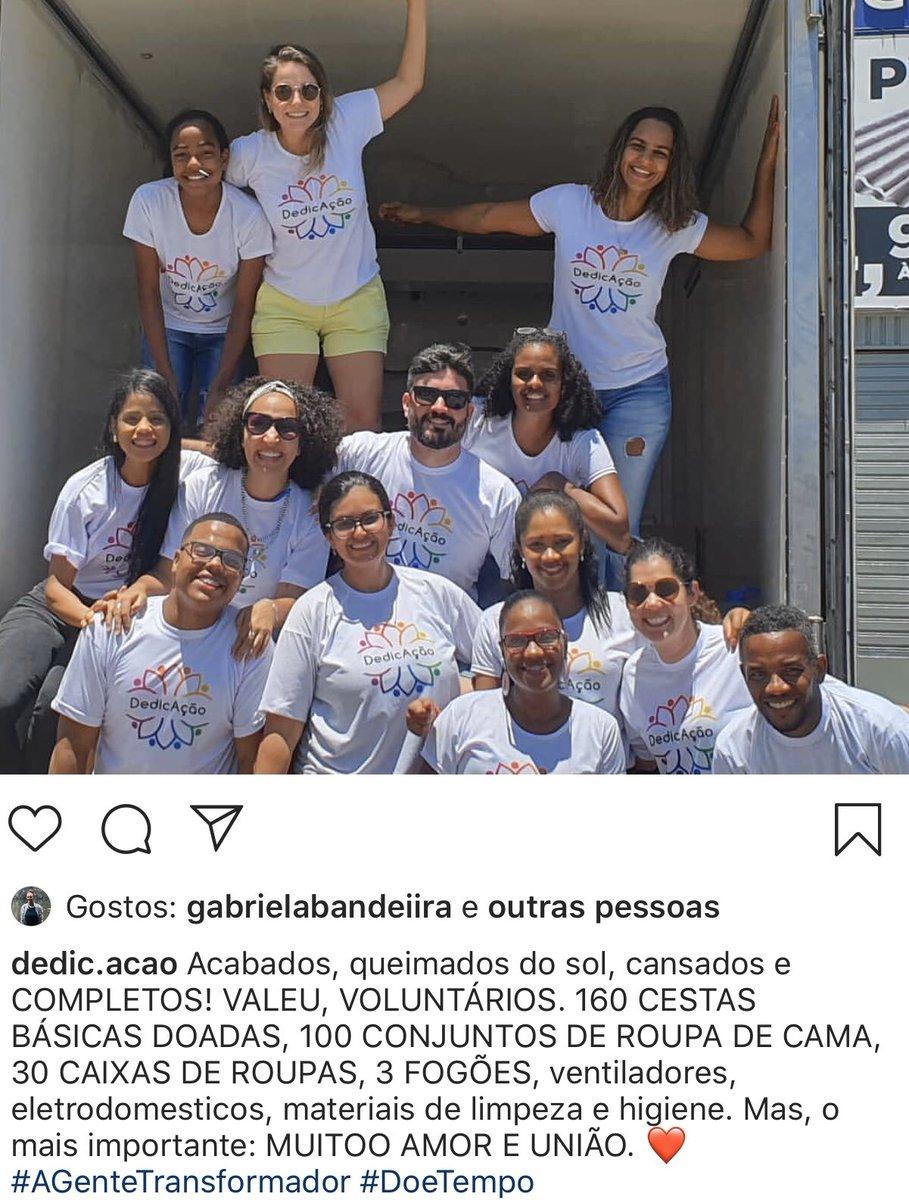 #AGenteTransformador #missaocumprida #voluntariado #pessoascomproposito #domingoucomamor #comunidade #batefacho