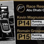 The 2019 season is complete!  Here's the #AbuDhabiGP classification ⬇️  #HaasF1