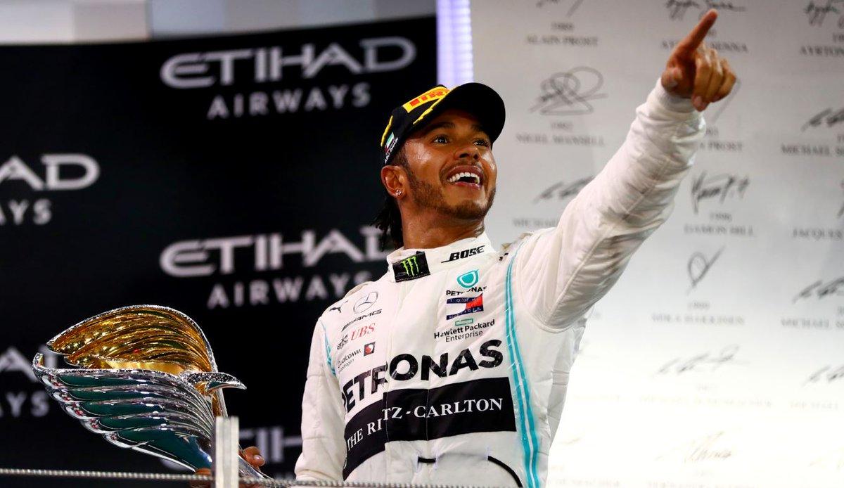 Your 2019 #F1 World Champion...🙌 LEWIS HAMILTON 🙌#bbcf1