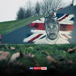 Take another look at the incredible @LewisHamilton mural featured in our opener, at Farm Bridge @SilverstoneUK.  Keep an eye out for an exclusive behind the scenes look at the collaboration between #SkyF1 and @akajimmyc, coming soon!🎨  #SkyF1 | #AbuDhabi🇦🇪