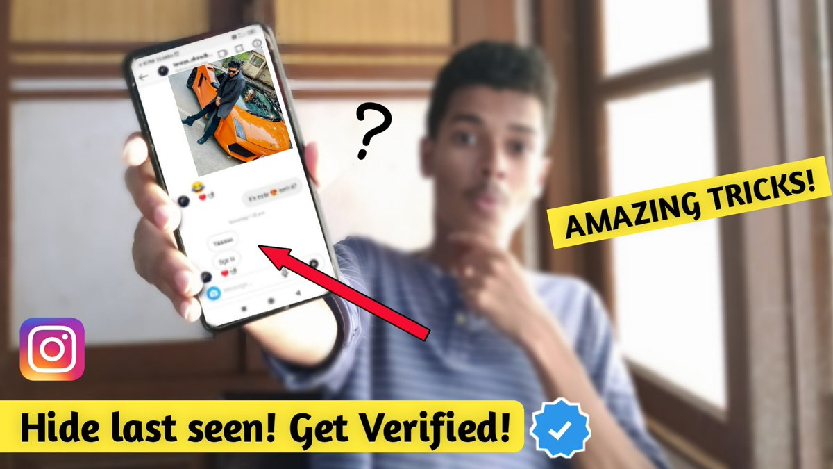 #Instagram #instagramverification Top 4 Instagram tricks that no one told you Click on th link belowhttps://youtu.be/-6ULAqvQliopic.twitter.com/WpuzYee1wi