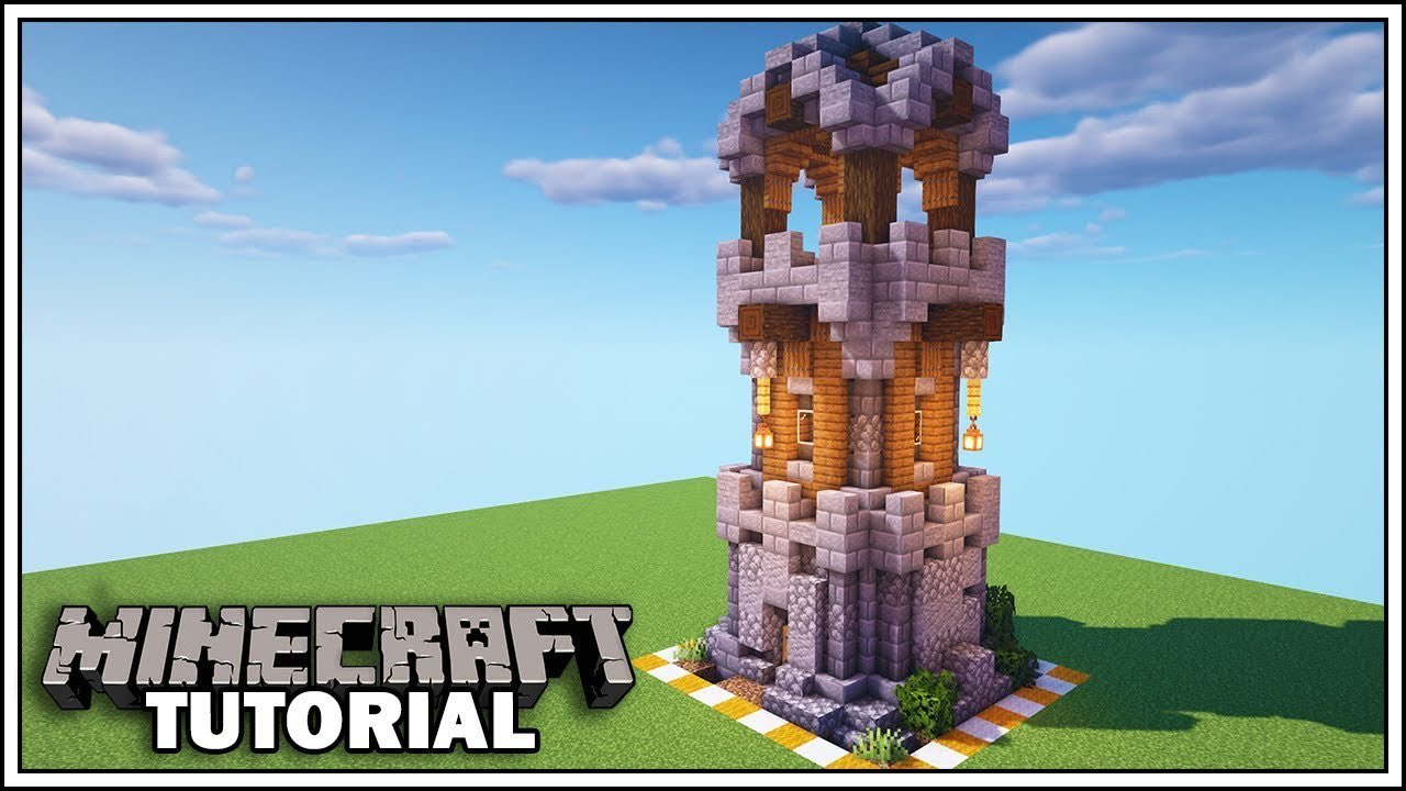 Mythical Sausage On Twitter New Minecraft 8x8 Enchanting Tower