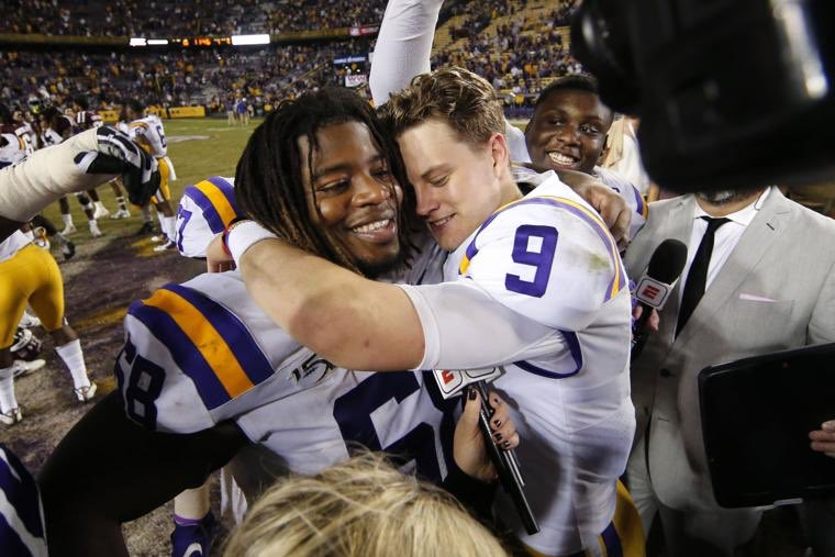 To the State of Louisiana; the best fans in the country, thank you! This has been a season I will remember forever! As a small town guy from Canton, Mississippi and JUCO transfer, I never thought I would be here today. LSU is myhome! Thank you for everything!  #ForeverLSU