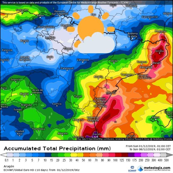 La primera semana de Diciembre se presenta sin precipitaciones en el Valle de Tena y con bastante sol. Mañana y pasado con ambiente fresco se podrá fabricar nieve, y resto de la semana más suave. Veremos si por lo menos las temperaturas por la noche permiten innivar.