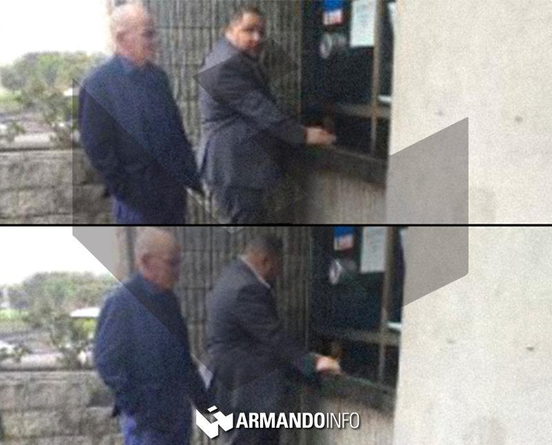 Una de las actuaciones ocurrió el #9Oct, cuando @AdolfoSuperlano y @JoseBritoR acudieron a Fiscalía General de Colombia para entregar carta que exime a Lizcano y a SalvaFoods de cualquier irregularidad o relación con Alex Saab. La foto es de la entrada de esa institución.