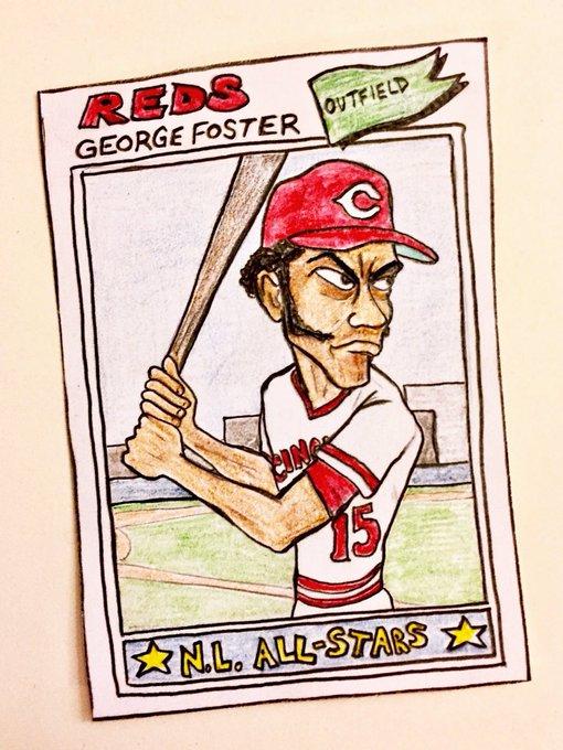 Happy birthday, George Foster!