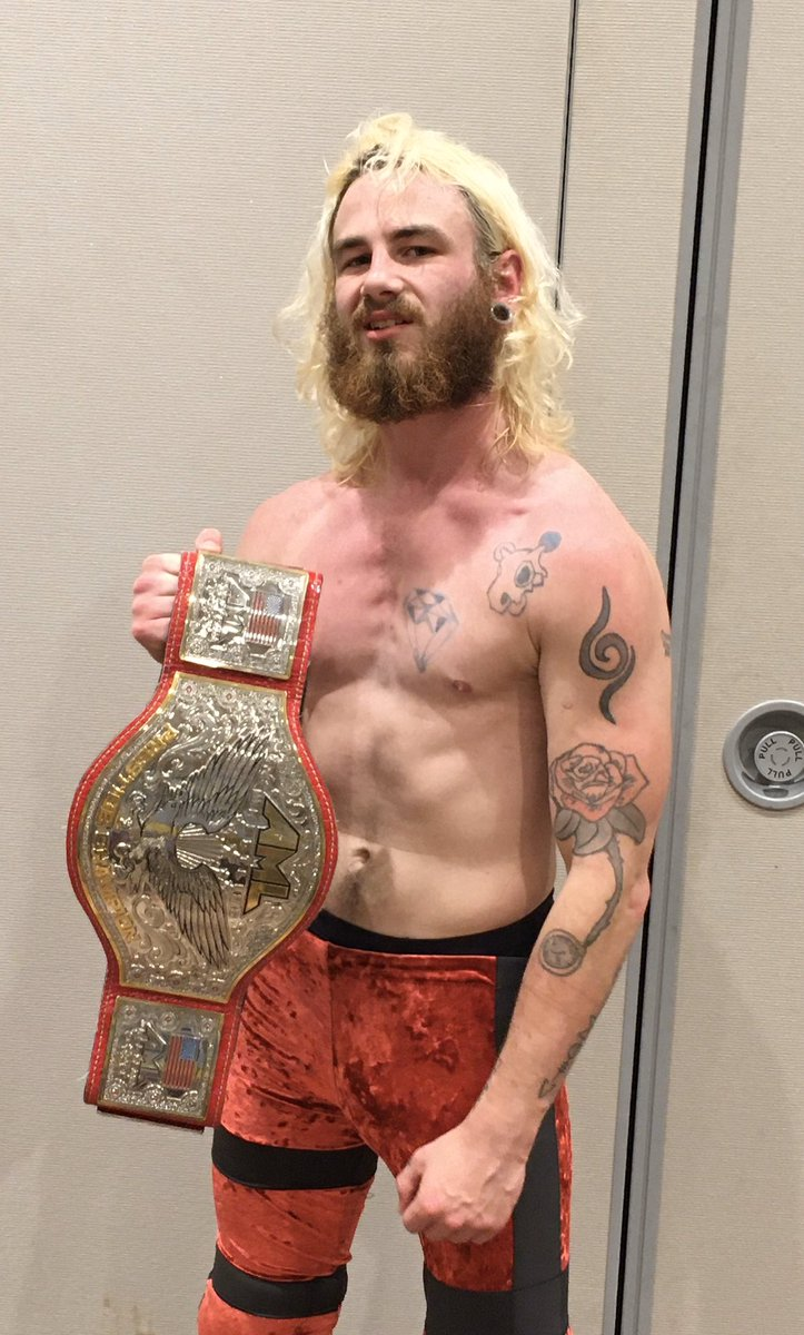 "Colby Corino on Twitter: ""Leaving @WrestleCade with a bit heavier ..."