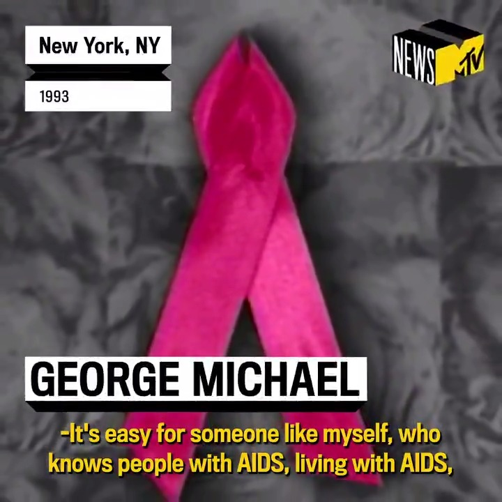 #December1st is #WorldAIDSDay, so were remembering a conversation we had with @GeorgeMichael in 1993 about the importance of educating young people about HIV and AIDS, imparting values of tolerance [and] understanding, and not being fearful of those impacted by it.