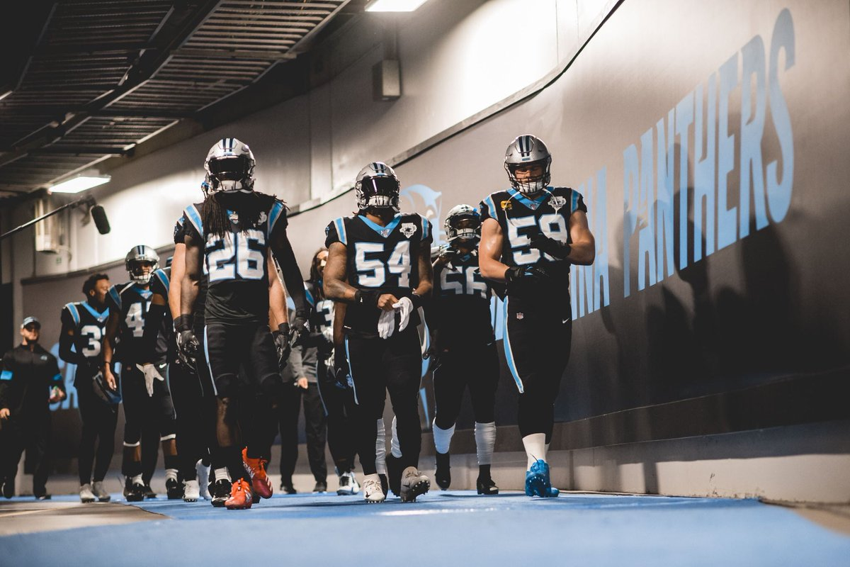 Black unis for the @Panthers #uniswag