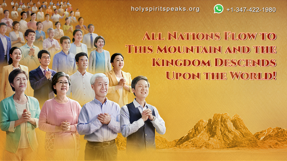 """All Nations Flow to This Mountain and the #Kingdom Descends Upon the World! The large-scale choral #performance, """"Kingdom Anthem: The Kingdom Descends Upon the World,"""" will bring you back before God's throne and make your hopes of millennia come true!  https://www. holyspiritspeaks.org/videos/kingdom -descends-upon-the-world/  … <br>http://pic.twitter.com/KybmJ5sSoZ"""