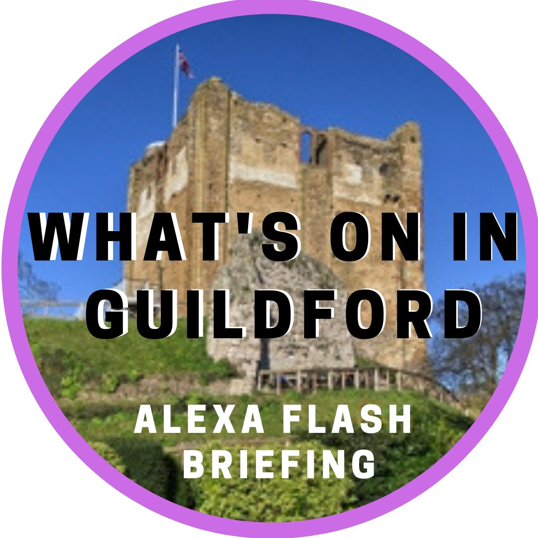"""What to do in #Surrey? To hear the top-rated free daily events podcast WHAT'S ON IN #GUILDFORD just tap here now: podfollow.com/woig On Echos say """"#Alexa enable What's On In Guildford"""" or tap bit.ly/WOIG_ Or listen on Spotify #Surrey #Woking #Dorking #Godalming"""