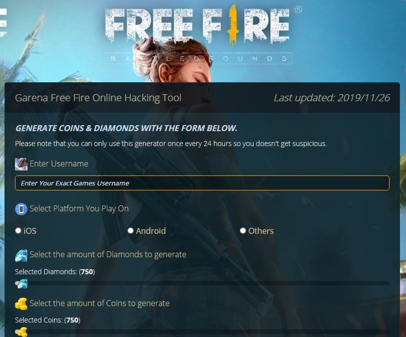 https://cpbild.co/62a4fdb    #garena Garena Free Fire Online Hacking Tool #GarenaFreeFire #GarenaHack #GarenaCheat #FreeFire #FreeFireHack #FreeFireCheat #FreeFireHacking #FreeFireGenerator #GarenaGenerator #FreeFireDiamonds #GarenaFreeFireHack #GarenaFreeFireCheatpic.twitter.com/MHRUMsiDPY