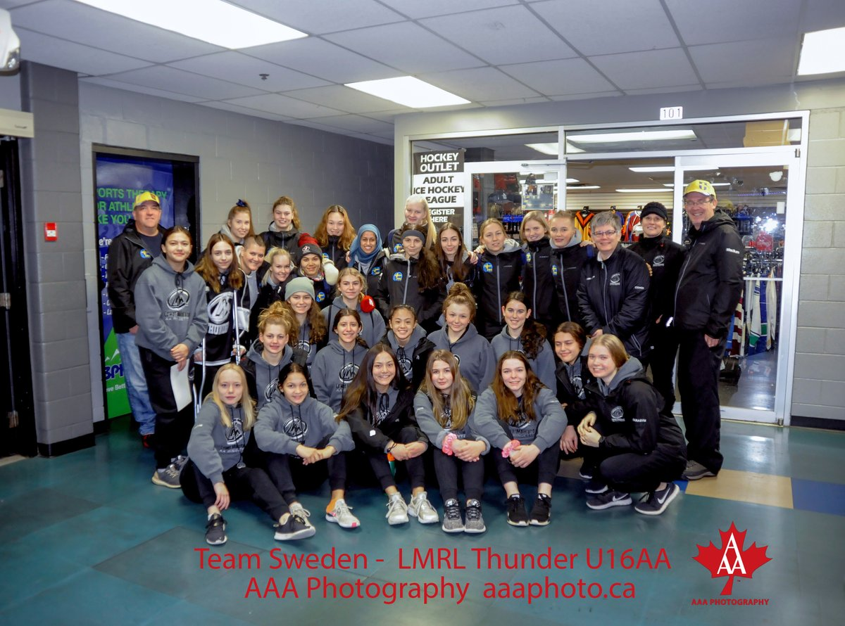 During a break at the World Ringette Champions, team Sweden visited a local area tournament in Langley — Spirit of Winter — to meet the young athletes and talk about all things ringette.  @ringettecanada  #2019wrc pic.twitter.com/vJywsxm5jI