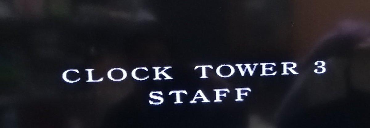 エンディング クロック タワー