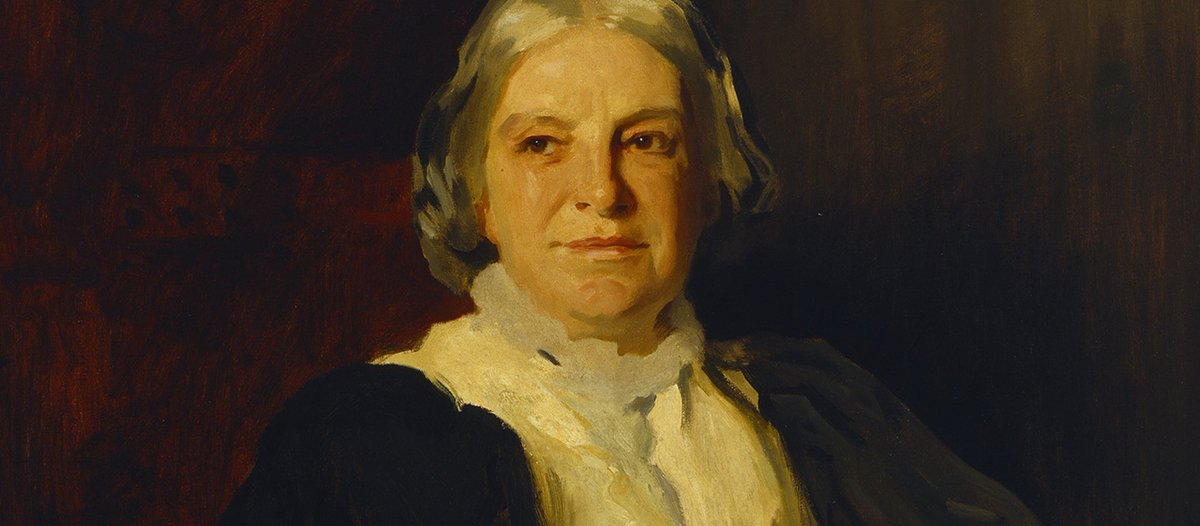 "Born on this day in 1838 - Octavia Hill.""There are indeed many good things in life which may be unequally apportioned & no such serious loss arise; but the need of quiet, the need of air, & I believe the sight of sky and of things growing, seem human needs, common to all men."""